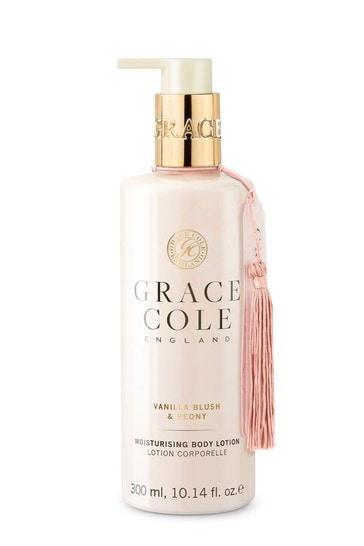 Grace Cole Vanilla Blush And Peony Body Lotion 300ml