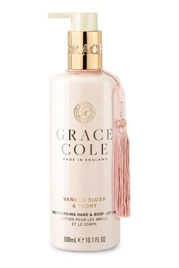 Grace Cole Vanilla Blush & Peony Hand Lotion 300ml