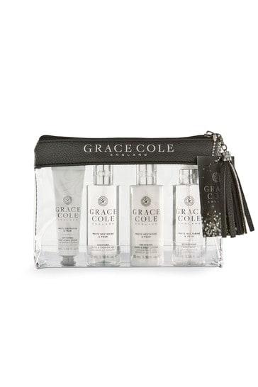 Grace Cole White Nectarine & Pear Travel Set