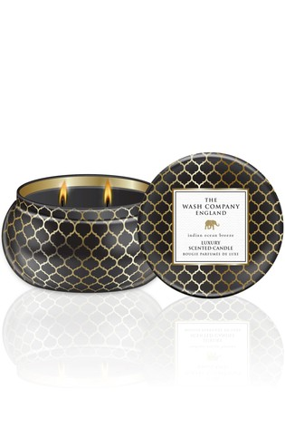 Baylis & Harding The Wash Company England Luxury Indian Ocean Breeze 2 Wick Candle