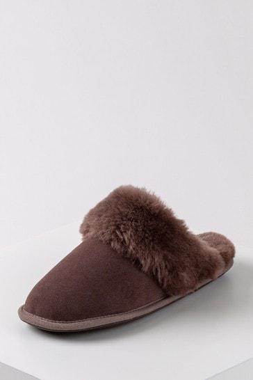 Just Sheepskin Ladies Duchess Sheepskin Slippers