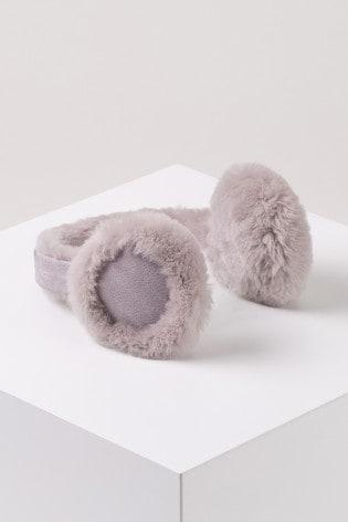 Just Sheepskin Purple Brompton Earmuff