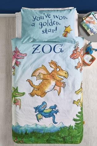 Zog™ Reversible Duvet Cover And Pillowcase Set