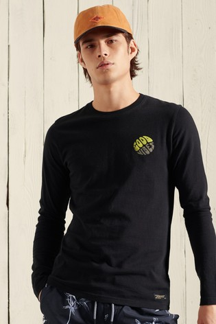 Superdry Military Graphic Long Sleeve Top