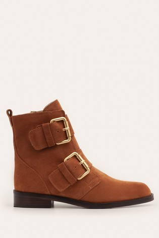Buy Boden Tan Cavenham Ankle Boots from