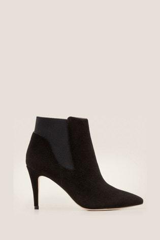 Boden Black Elsworth Ankle Boots