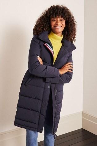 Boden Blue Thompson Padded Coat