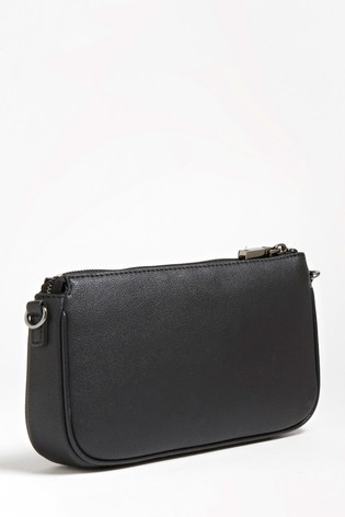 Guess Black and Logo 2 in 1 Mika Crossbody Bag