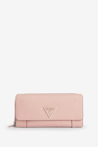 Guess Blush Destiny Clutch Bag