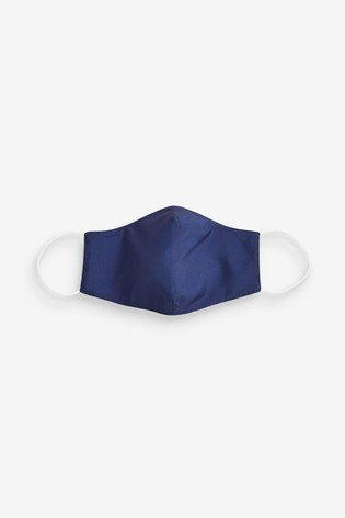 Plain Navy Face Covering