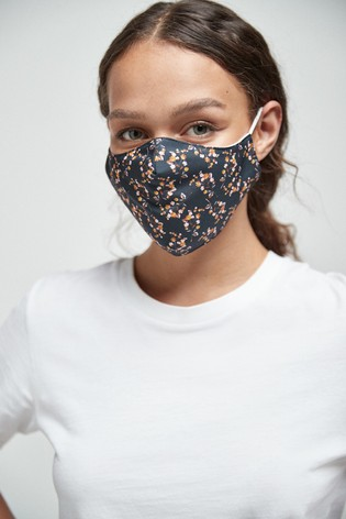Floral Face Covering