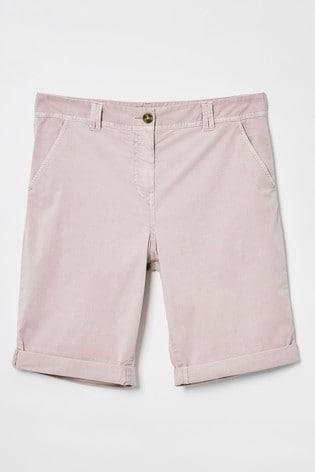 White Stuff Pink Helter Skelter Shorts
