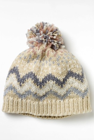 White Stuff Natural Laurie Chunky Hat