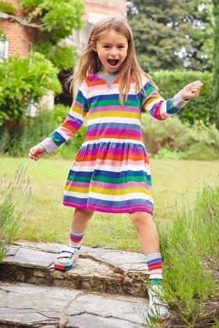 Boden Multi Jersey Printed Dress