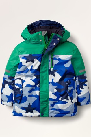 Boden Blue All-Weather Waterproof Jacket