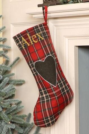 Personalised Tartan Stocking by Dibor