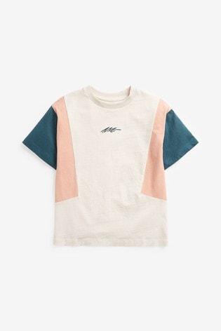Cosmetic Colourblock Jersey T-Shirt (3-16yrs)