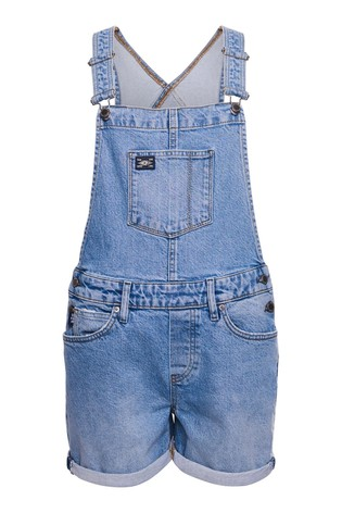 Superdry Utility Dungaree Shorts