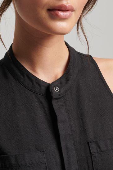 Superdry TENCEL™ Sleeveless Jumpsuit