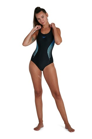 Speedo® Placement Muscleback Swimsuit