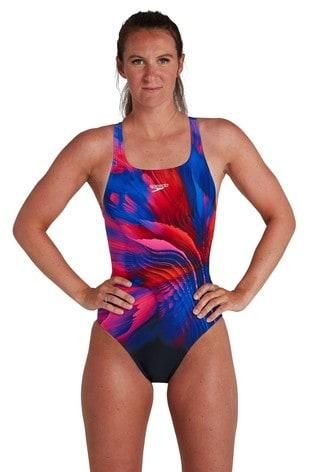 Speedo Printed Swimsuit