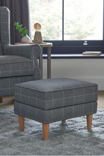 Sherlock II Storage Footstool With Light Legs