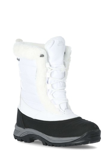 Trespass White Stalagmite II - Cosy Snow Boots