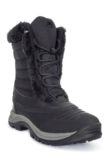 Trespass Black Stalagmite II - Cosy Snow Boots
