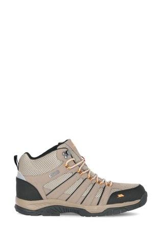Trespass Brown Hugh - Male Mid Cut Boots