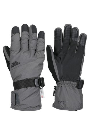 Trespass Grey Ergon II - Adult Gloves