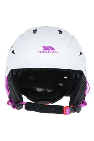 Trespass White Davenport - Female Snow Helmet