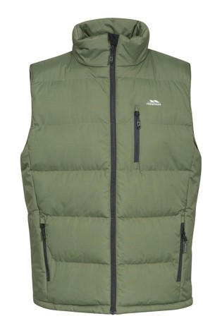Trespass Green Clasp - Male Padded Gilet