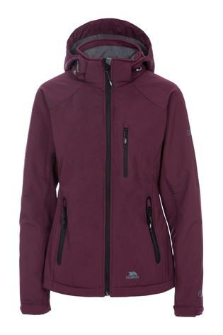 Trespass Brown Bela II - Female Softshell Jacket TP75