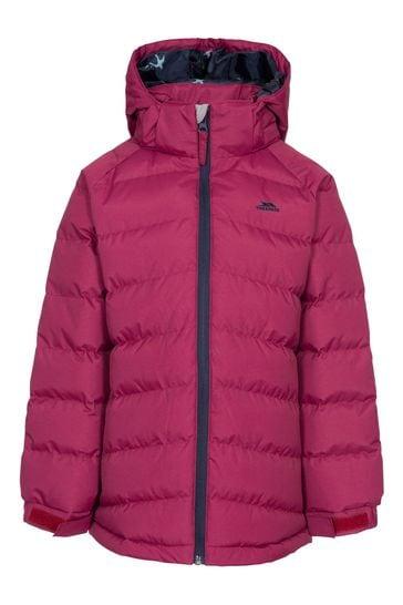 Trespass Red Amira - Female Casual Jacket