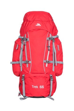 Trespass Red Trek 66 - 66 Litres Rucksack