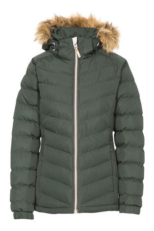 Trespass Green Nadina - Female Padded Jacket