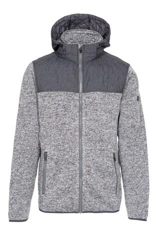 Trespass Grey Fairleystead Male Fleece