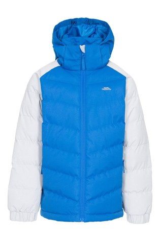 Trespass Blue Sidespin Male Padded Jacket