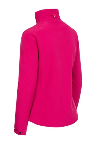 Trespass Red Hallie Female Softshell Jacket