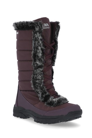 Trespass Brown Coretta Female Snow Boots
