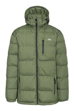 Trespass Green Clip Male Padded Jacket