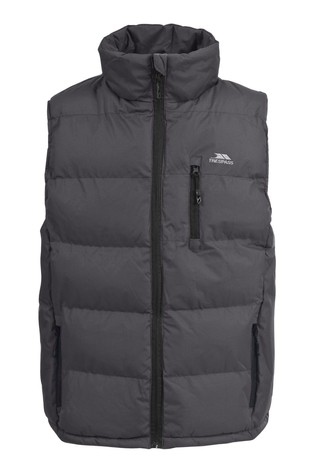 Trespass Brown Clasp Male Padded Gilet