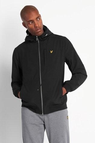 Lyle & Scott Black Softshell Jacket