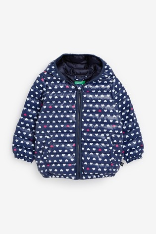 Benetton Printed Puffer Jacket