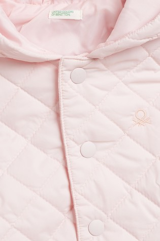 Benetton Pink Padded Coat