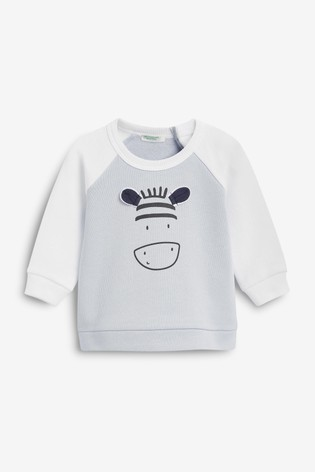 Benetton Long Sleeve Character T-Shirt