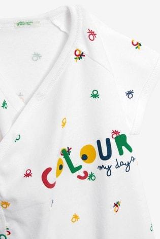 United Colours Of Benetton Graphic Bodysuit