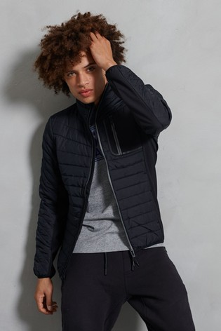 Superdry Convection Hybrid Non Hooded Jacket