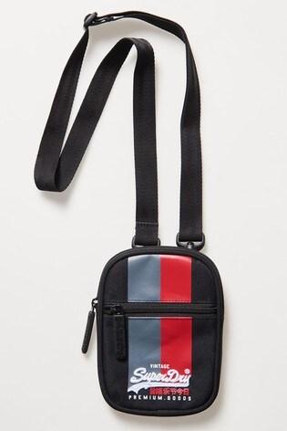 Superdry Vintage Logo Sport Pouch Bag
