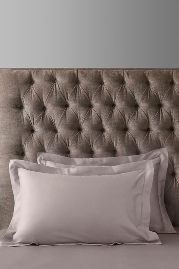 Set of 2 Heather Pink 300 Thread Count Collection Luxe 100% Cotton Pillowcases